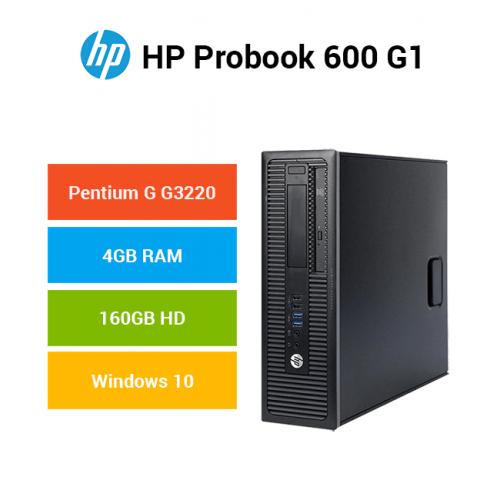 HP ProDesk 600 G1 SFF Pentium   4GB   160GB HD