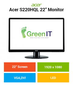 "Acer S220HQL 22"" Monitor"