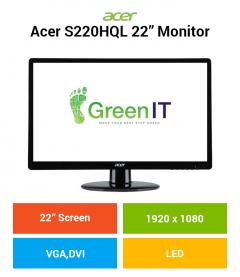 "Acer S220HQL 22"" Monitor"