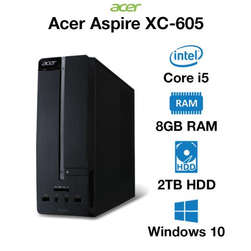 Acer Aspire XC-605 Core i5   8GB   2TB HD