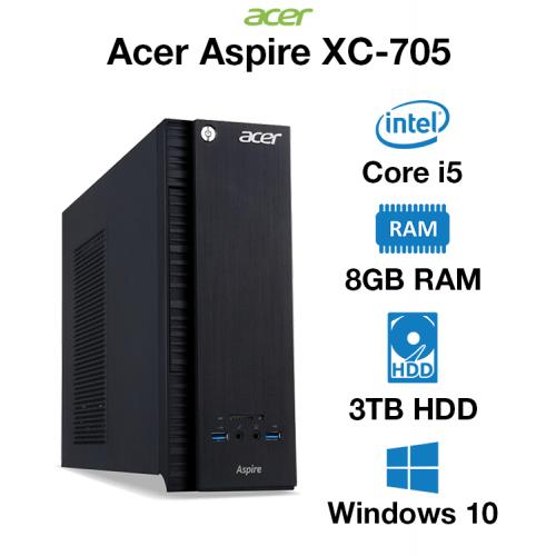Acer Aspire XC-705 Core i5 | 8GB | 3TB HD