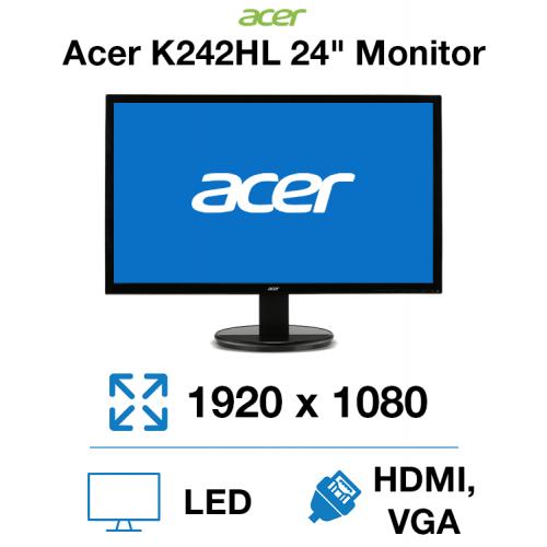"""Acer K242HL 24"""" Monitor"""