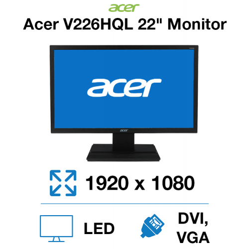 "Acer V226HQL 22"" Monitor"