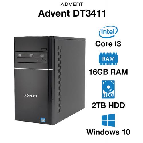 Advent DT3411 Core i3   16GB   2TB HD