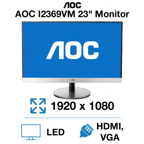 "AOC I2369VM 23"" Monitor"