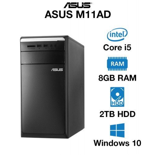 ASUS M11AD Core i5   8GB   2TB HD