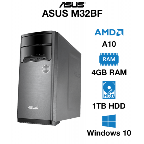ASUS M32BF AMD A10   4GB   1TB HD