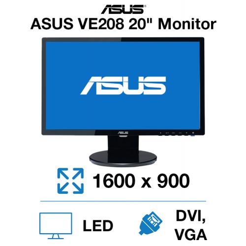 "Asus VE208 20"" Monitor"
