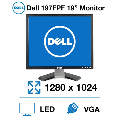 "Dell 197FPF 19"" Monitor"