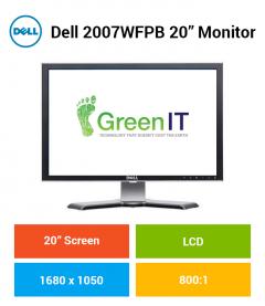 """Dell 2007WFPB 20"""" Monitor"""
