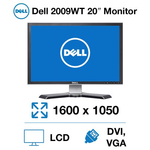 "Dell 2009WT 20"" Monitor"