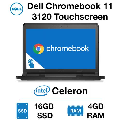Dell Chromebook 11 3120 Touchscreen Celeron | 4GB | 16GB SSD