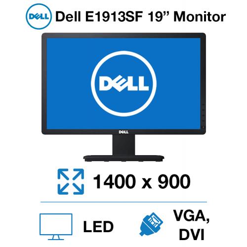 """Dell E1913SF 19"""" Monitor"""