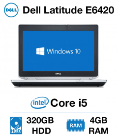Dell Latitude E6420 Core i5 | 4GB RAM | 320GB HD