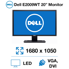 "Dell E2009WT 20"" Monitor"