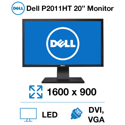 """Dell P2011HT 20"""" Monitor"""