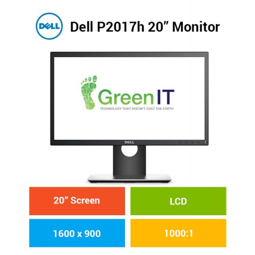 """Dell P2017h 20"""" Monitor"""