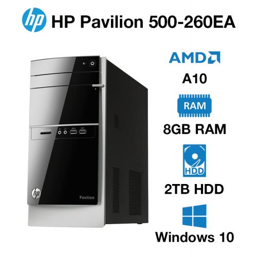 HP Pavilion 500-260EA AMD A10 | 8GB | 2TB HD