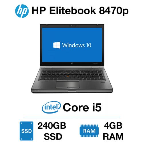 HP EliteBook 8470P Core i5 | 4GB | 240GB SSD