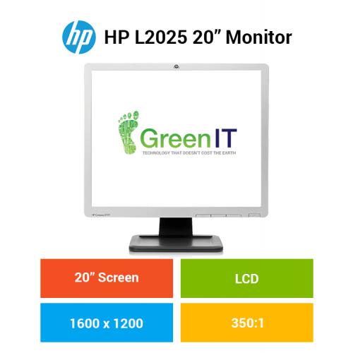 """HP L2025 20"""" Monitor"""