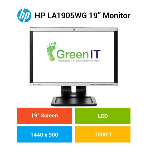 "HP LA1905WG 19"" Monitor"