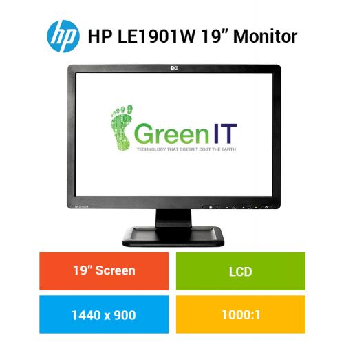 """HP LE19O1W 19"""" Monitor"""
