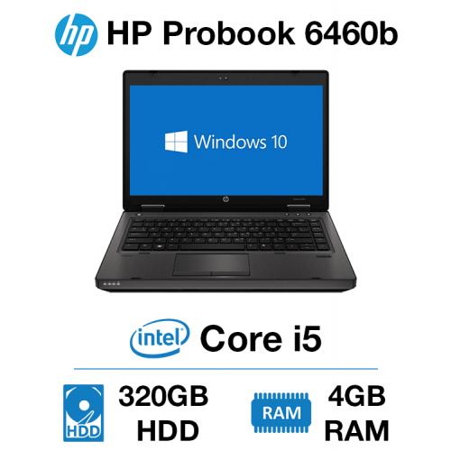 HP Probook 6460b Core i5   4GB   320GB HD