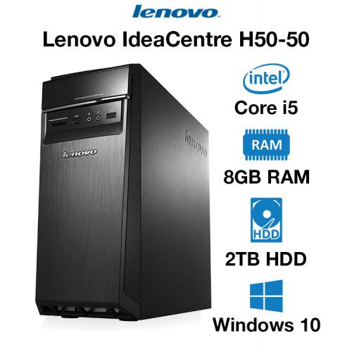Lenovo IdeaCentre H50-50 Core i5 | 8GB | 2TB HD