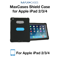 MaxCases Shield Case for iPad 2/3/4