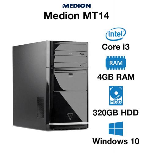 Medion MT14 Core i3 | 4GB RAM | 320GB HD