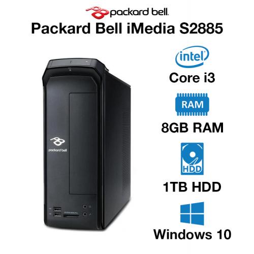 Packard Bell iMedia S2885 Core i3   8GB   1TB HD