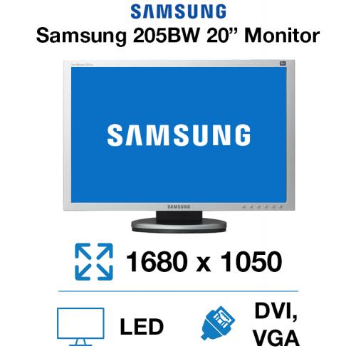 "Samsung 205BW 20"" Monitor"