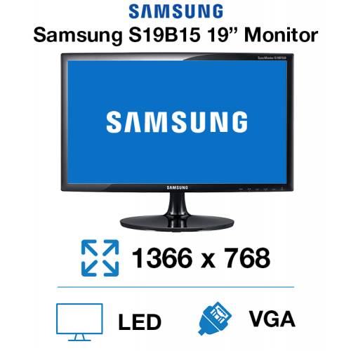"Samsung S19B150NS 19"" Monitor"