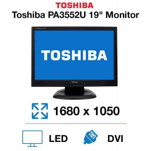 """Toshiba PA3552U 19"""" Monitor"""