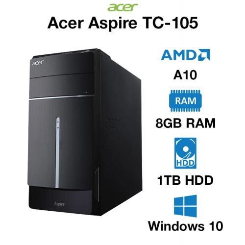 Acer Aspire TC-105 AMD A10   8GB   1TB HD