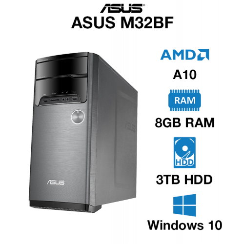 ASUS M32BF AMD A10   8GB   3TB HD