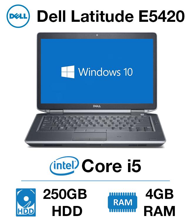 19a8b5ad787 Dell Latitude E5420 Core i5 | 4GB RAM | 250GB HD - Green IT