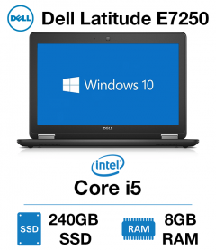 Dell Latitude E7250 Core i5 | 8GB | 240GB SSD