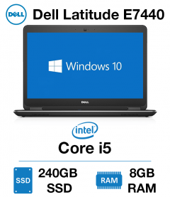 Dell Latitude E7440 Core i5 | 8GB | 240GB SSD