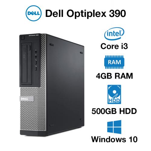 Dell Optiplex 390 Core i3 | 4GB | 500GB HD