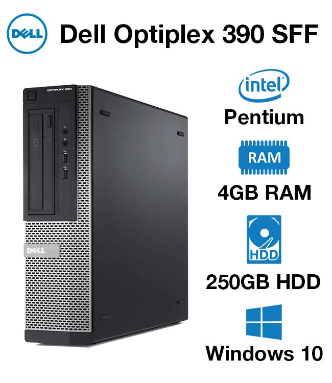 Dell Optiplex 390 Pentium   4GB   250GB HD