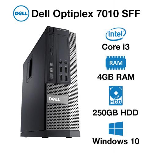 Dell Optiplex 7010 SFF Core i3 | 4GB | 250GB HD