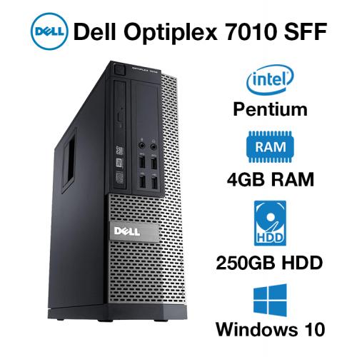 Dell Optiplex 7010 Pentium | 4GB | 250GB HD