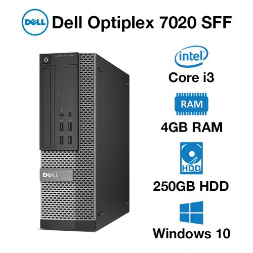 Dell Optiplex 7020 Core i3 | 4GB | 250GB HD