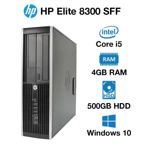 HP Compaq Elite 8300 SFF Core i5   4GB   500GB HD
