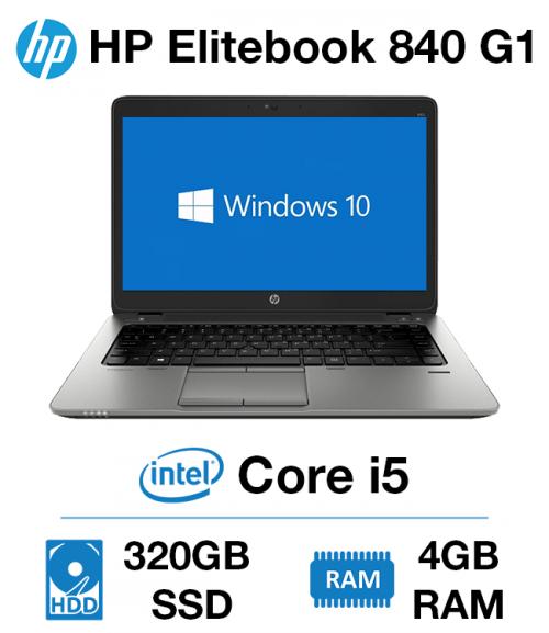 HP Elitebook 840 G1 Core i5 | 4GB | 320GB HD