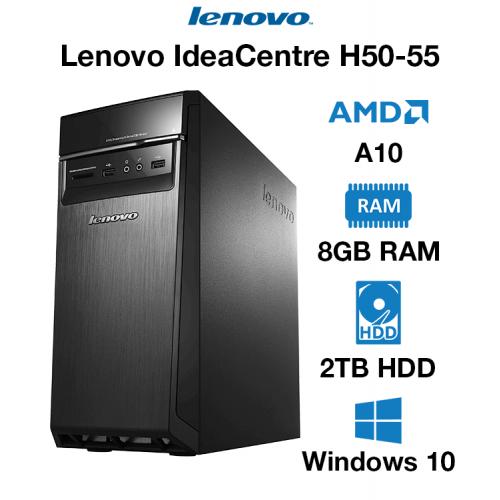 Lenovo IdeaCentre H50-55 AMD A10 | 8GB | 2TB HD