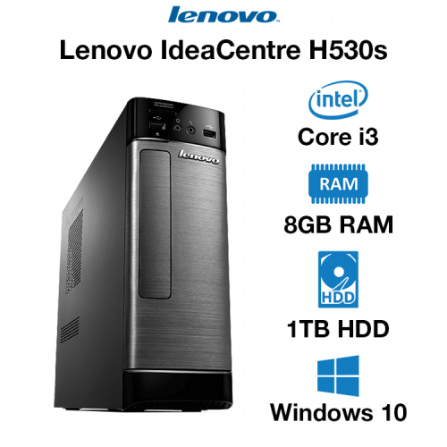 Lenovo IdeaCentre H530s Core i3 | 8GB | 1TB HD