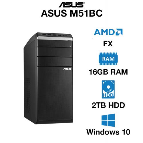 ASUS M51BC AMD FX   16GB   2TB HD