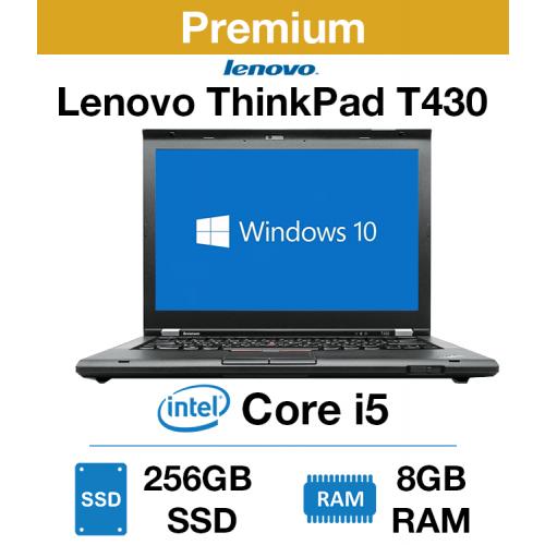 Lenovo ThinkPad T430 Core i5 | 8GB | 256GB SSD 1600x900 (Premium)
